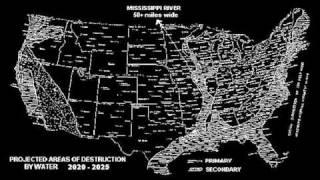 Al Bielek ~ Future Map of the U.S.
