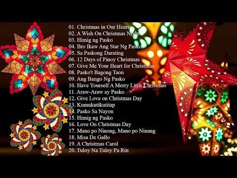 Paskong Pinoy: Tagalog Christmas Songs 2020 – Traditional Classic Christmas Carol Playlist