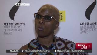 Angelique Kidjo honoured for fight against injustices