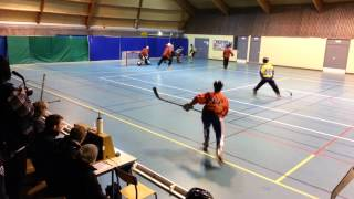 preview picture of video 'Roller Sports Lambersart - Match de Hockey (12/01/2014) 2/4'