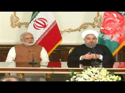 Modi at Trilateral of Iran India & Afghanistan