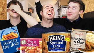 The Most Weirdly Named English Foods!!
