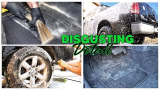 DISGUSTING Detail! | Filthy Truck Transformation | Lots Of Extractions!