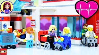 Lego City Hospital Build Review - Kids Toys