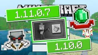 ВЫШЕЛ НОВЫЙ Minecraft PE 1.11.0.7 (Бета) и 1.10.0 (Релиз) - ДОБАВИЛИ НОВУЮ АНИМАЦИЮ + ДОСТИЖЕНИЕ!