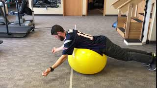 Don't Forget About Scapular Stabilization!