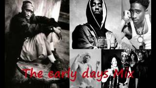 Tupac Shakur - The early days - Oldskool Tape Mix