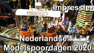 Nederlandse Modelspoordagen Rijswijk 2020 (lange versie)