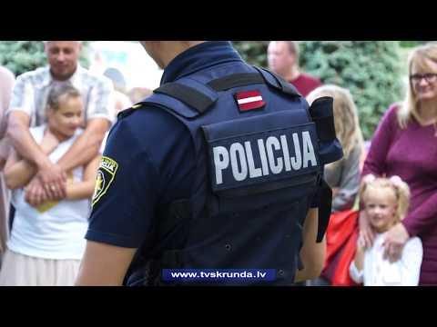 Bērniem Skrundā atgādina par drošību