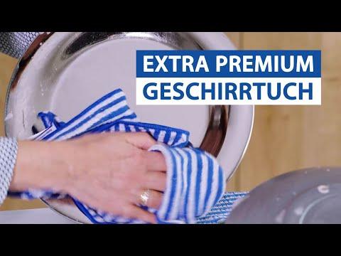 Das Blaue Wunder EXTRA Premium Geschirrtuch