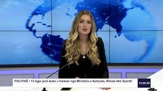 RTK3 Lajmet e orës 13:00 12.08.2019