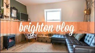 İngiltere Vlog: Brighton'da İlk Günler, Ev Turu, Elveda Şekersizlik