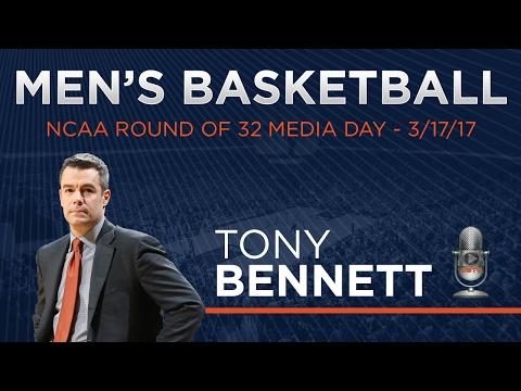 MEN'S BASKETBALL - NCAA Round of 32 Media Day - Tony Bennett Presser
