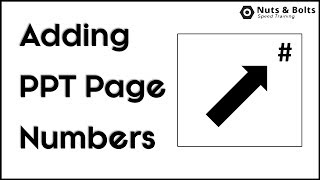 How to add slide numbers in PowerPoint (The Right Way!)