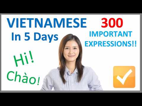 Learn Vietnamese in 5 Days - Conversation for Beginners - YouTube