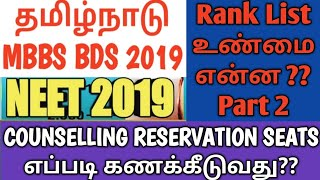 Скачать TN MBBS BDS 2019 Counselling Process & Top College Choice