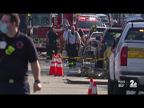 Aunt of victim speaks about Northwest Baltimore explosion