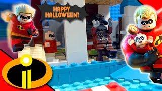 Lego Incredibles 2 Halloween Swimming Pool | Stop Motion Cartoon For Kids | Kholo.pk