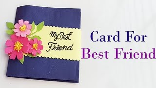 How to make Special Card For Best Friend//DIY Gift Idea...