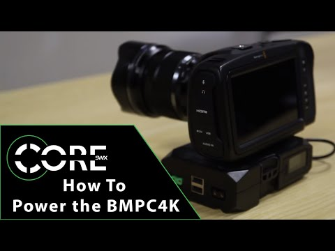 How to Power the Blackmagic Pocket 4k Camera