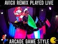 Avicii Without You AFISHAL Remix ARCADE GAME STYLE