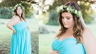 Makeup For My Maternity Pictures | 33 Weeks Pregnant