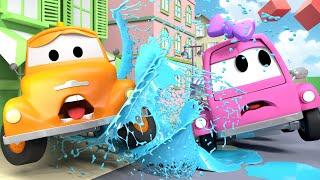 Прекрасная Сьюзи - Эвакуатор Том в Автомобильный Город  🚗 детский мультфильм