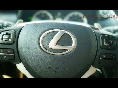 Lexus ES350 - Steering Wheel Controls Review