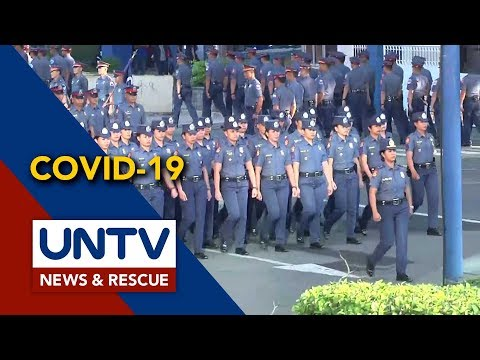 [UNTV]  4 tauhan ng NCRPO, itinuturing na PUI dahil sa COVID-19