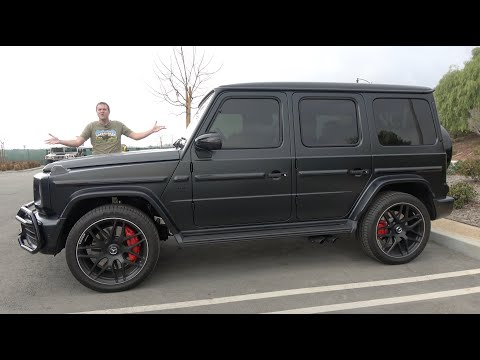 Here's Why the New Mercedes-AMG G63 Is Worth $200,000