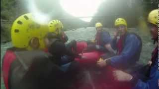 preview picture of video 'Rafting en Sort. Junio 2012.'