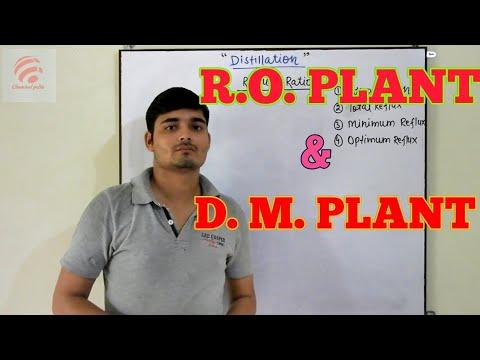 [Hindi] Demineralization process, DM plant, RO plant || Chemical Pedia
