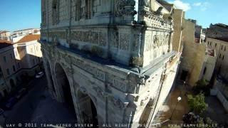 preview picture of video 'Volare sul Duomo di Sassari - Sardegna (immagini aeree UAV di San Nicola)'