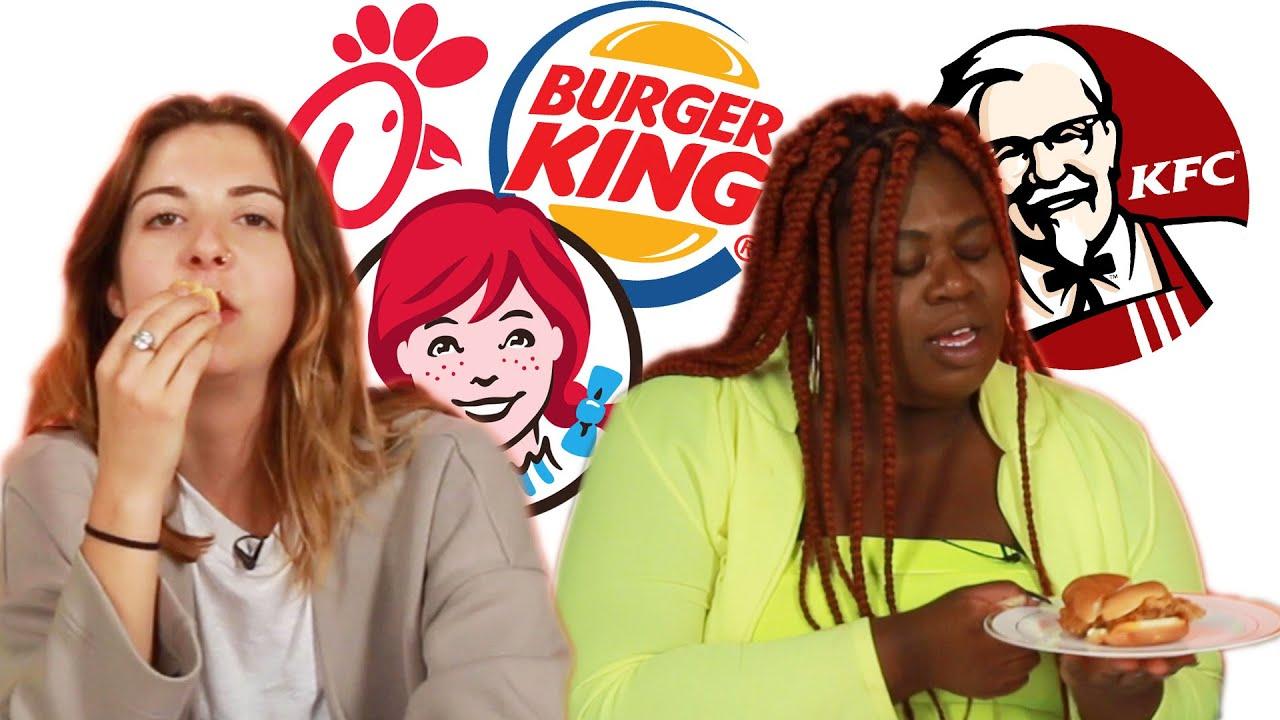 Fast Food Spicy Chicken Sandwich Blind Taste Test thumbnail