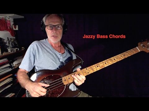 How to Play Jazzy Bass Chords