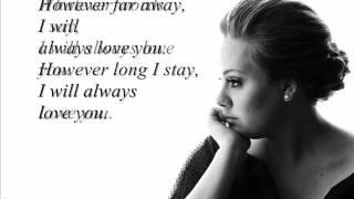 adele - lovesong with lyrics || HD ||.