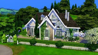The Sims 4 || Speed Build || Honeydale Cottage Collab /w Chrissie York