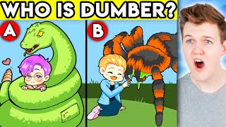 Can You Solve These SUPER TRICKY RIDDLES!? (GAME)