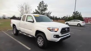 2016 Toyota Tacoma SR5 2.7L 4X2 Access Cab Full Tour & Start-up at Massey Toyota