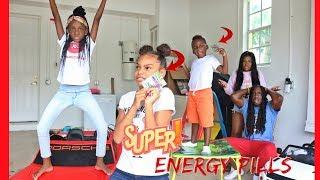 SUPER ENERGY PILL PRANK ON DON AND MALINDA