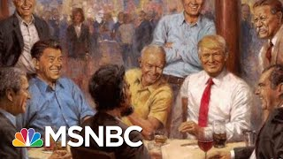 President Donald Trump Has Added Some Interesting Art To The White House | All In | MSNBC