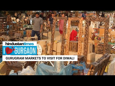 I Love Gurgaon l Markets to visit to help light up your Diwali