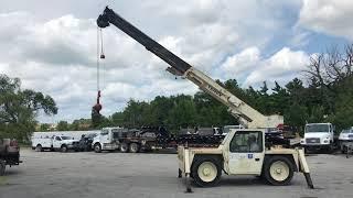 Terex D851 Industrial Carry Deck Crane Functions Video