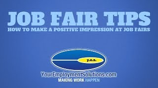 Job Fair Tips | How to Make a Positive Impact at Job Fairs