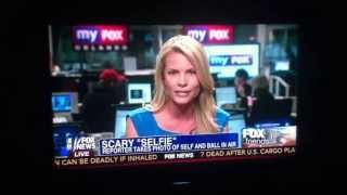 Kelly Nash on Fox And Friends talks about crazy Selfie at F