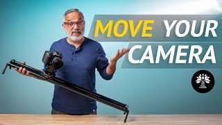 How to Create Cinematic Movements using a Slider - SYRP Magic Carpet 1000.