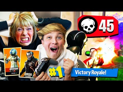 1 KILL = 10 *NEW* SEASON 4 SKINS FOR KID!! (Fortnite Season 4 FREE Skins Challenge)
