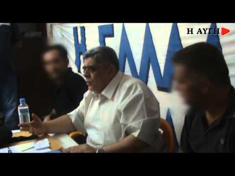 """""""Θα καταργήσουμε τη δημοκρατία"""" έλεγε ο Ν. Μιχαλολιάκος"""