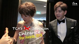 Star Awards 2018 Special: TCA's Entrance Invasion