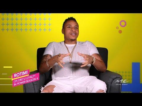 Rotimi on Dre's Loyalty in 'Power'